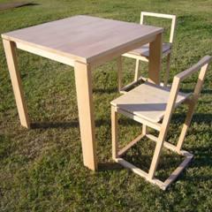 FSC森林認証シルバービーチのテーブル