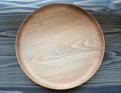 会津の無垢の木のお皿