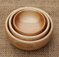 岩手の木の小鉢