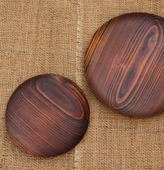 九州産杉の漆皿(大)